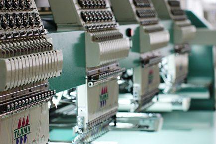 Вышивка на текстиле в Минске